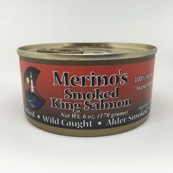 Merino's Wild Smoked King Salmon