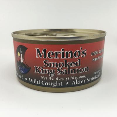 Merino's Wild Smoked King Salmon