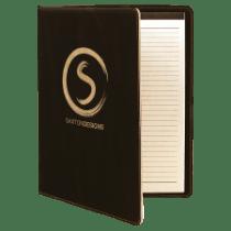 Leatherette Portfolio with Notepad