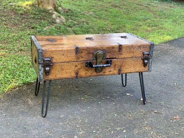 Rustic Coffee Table, Trunk Coffee Table