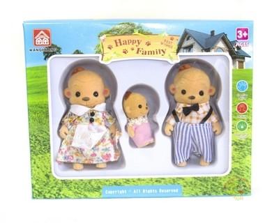 Игровой набор Семья животных Happy Family 012-14/16D