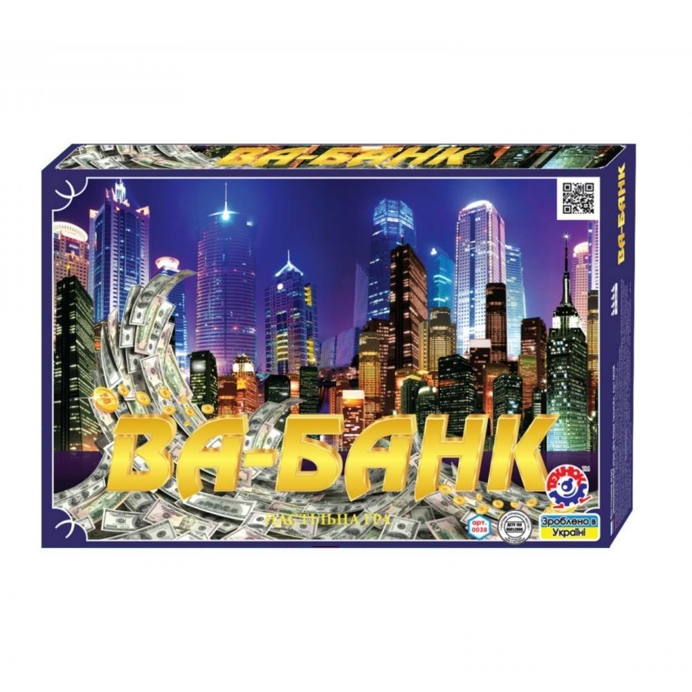 Настольная игра Ва-Банк Технок 0038