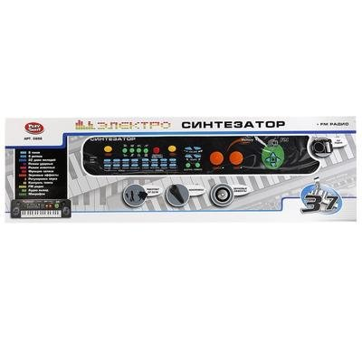 Синтезатор на батарейках, в коробке Play smart 0886