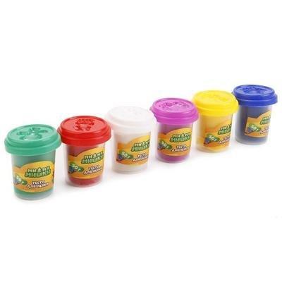 Тесто для лепки – Мимимишки 6 цветов Multiart 650PD-MIMIsim