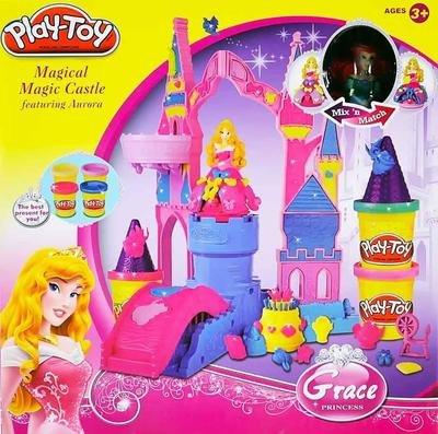 Тесто для лепки Замок Принцессы Play-Toy SM 8021