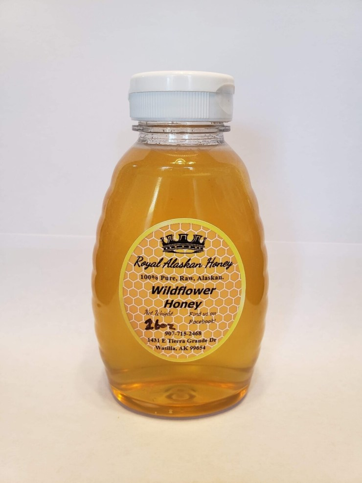 1lb Wildflower Honey