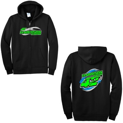 2020 Harrison Racing Zip-Up Hoodie