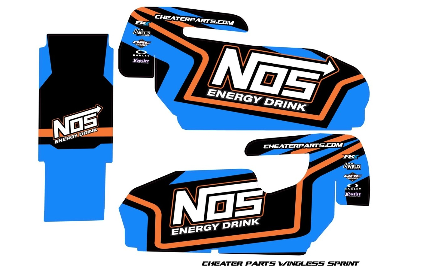 Cheater Parts Wingless Sprint Wrap (Designed to Order) | R ...