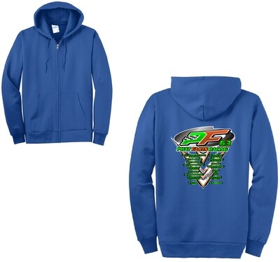 2020 PFR Racing Zip-Up Hoodie