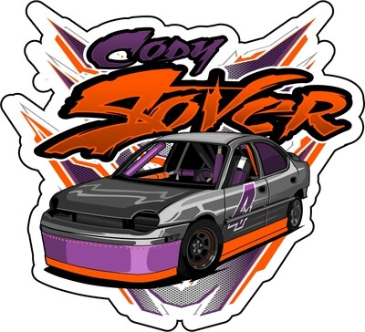 2020 Stover Racing Sticker