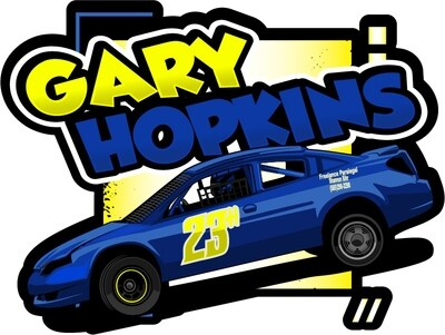 2020 Gary Hopkins Racing Sticker