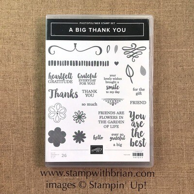 A Big Thank You Photopolymer Stamp Set