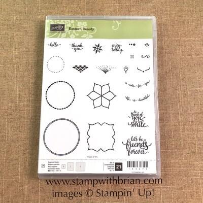 Eastern Beauty Photopolymer Stamp Set