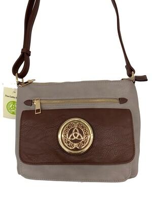 155 Two Tone Pocket Bag Gray