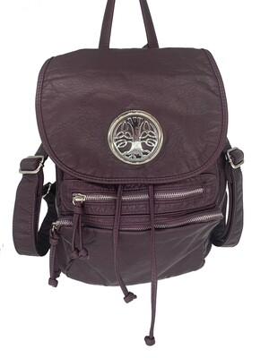 19296 Our Washed B Pack purple
