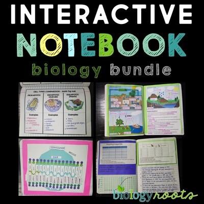 Biology Interactive Notebook Bundle