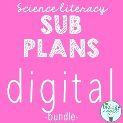 DIGITAL Sub Plans Bundle