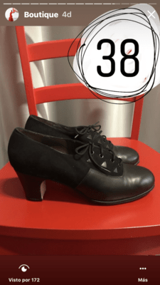 Zapatos profesionales Flamenco Gallardo N: 38