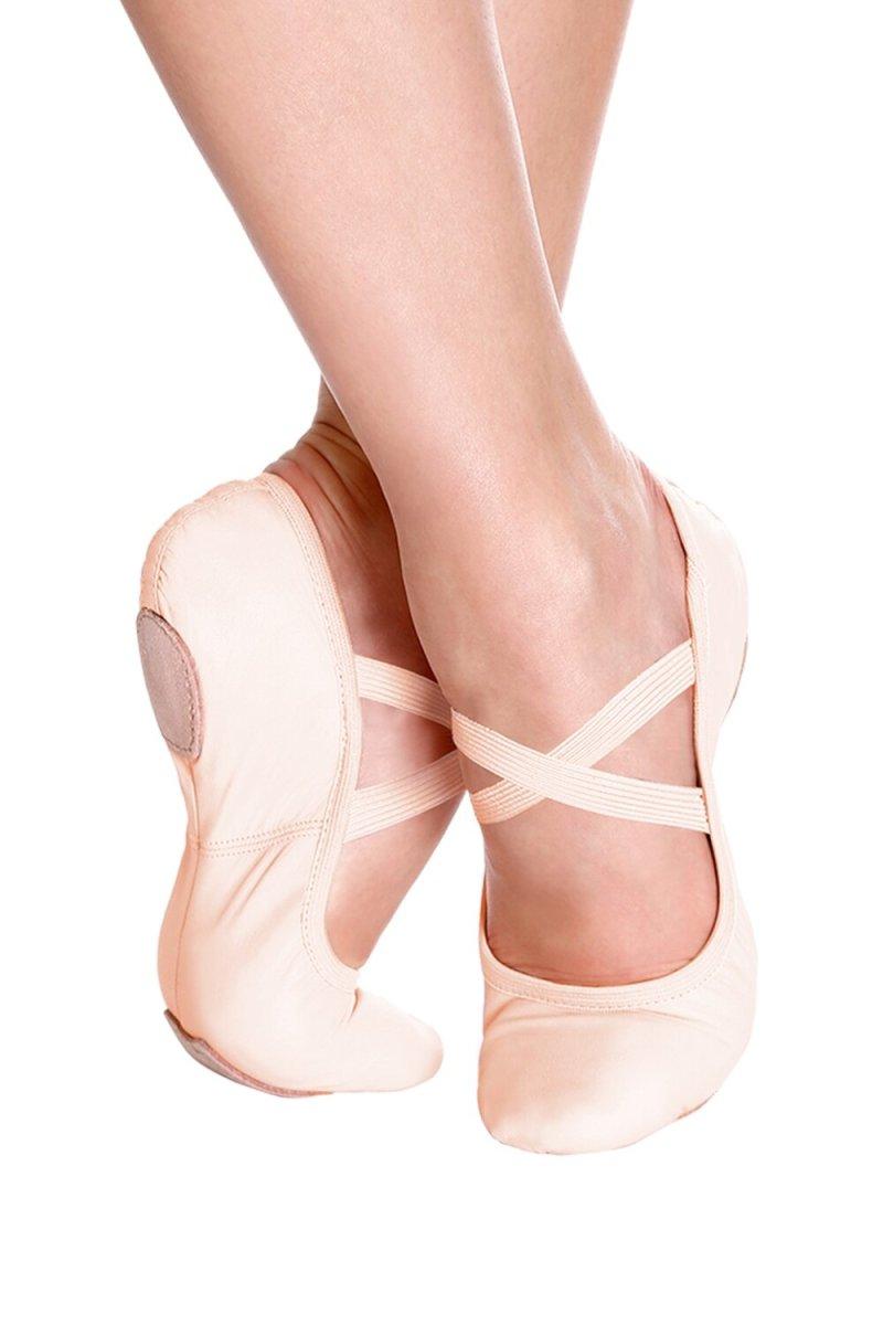 SD60S So Danca Child Leather Ballet Slipper