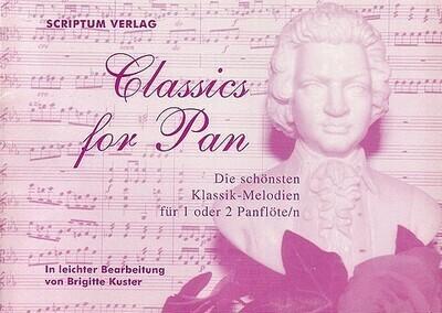 Classics for Pan - Berühmte Klassikmelodien