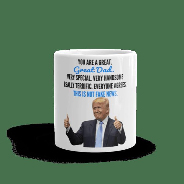 Coffee Mug - Trump Father's Day (Thumbs Up)