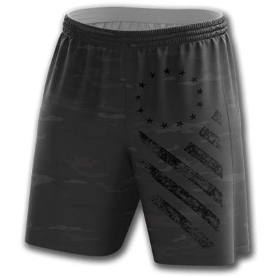GH Shorts - Blackout Camo