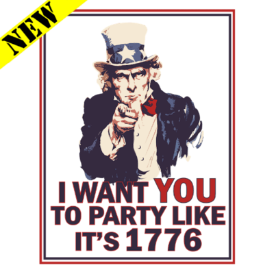 T-Shirt - Party Like It's 1776