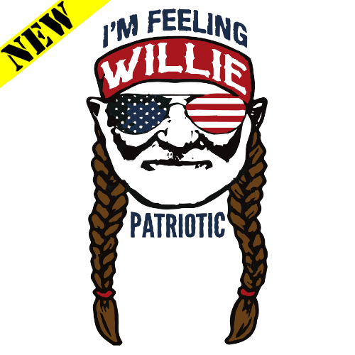 T-Shirt - Willie Patriotic