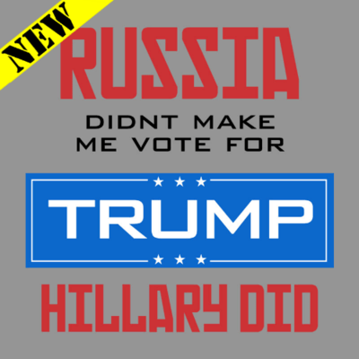 T-Shirt - Hillary Did