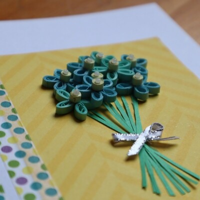 Hand Quilled Cards by Brooke