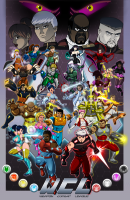 WEAPON Combat League Full Cast Poster