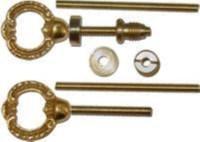 Shell Cheval Mirror Mount Set - Brass | Brackets | Store ...