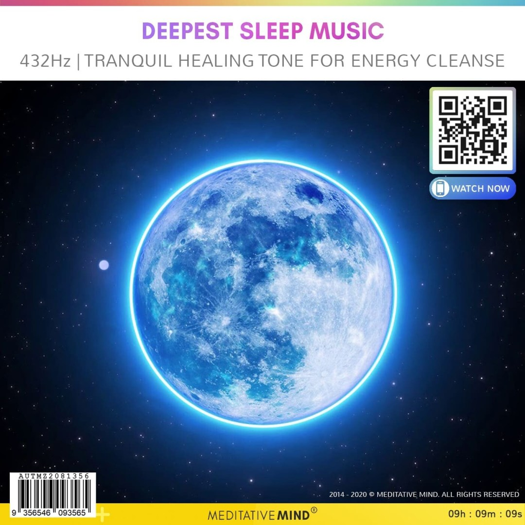 DEEPEST SLEEP MUSIC - 432Hz | Tranquil Healing Tone for Energy Cleanse