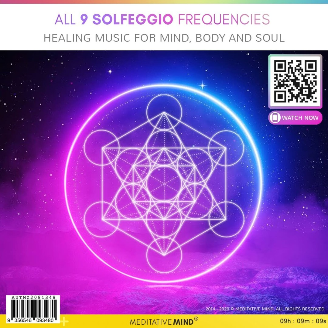 All 9 Solfeggio Frequencies  - Healing Music for Mind, Body and Soul