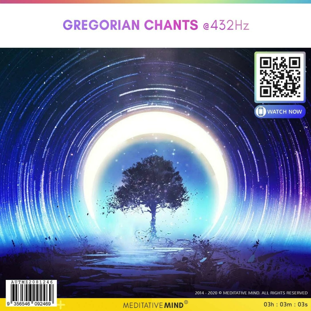 GREGORIAN CHANTS @432Hz