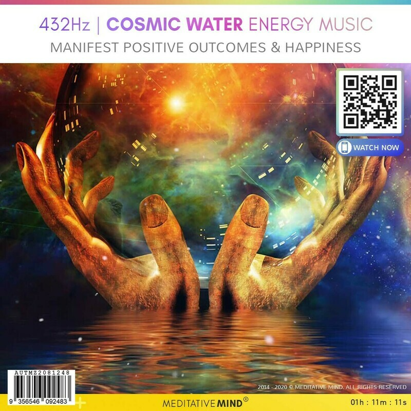 432Hz | Cosmic Water Energy Music - Manifest Positive Outcomes & Happiness