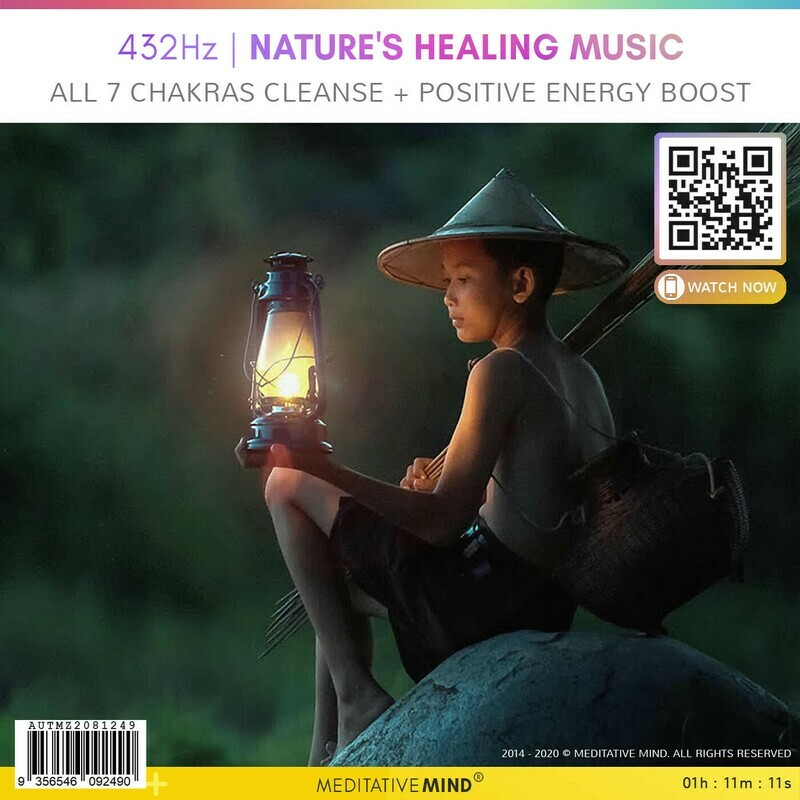 432Hz | Nature's Healing Music - All 7 Chakras Cleanse + Positive Energy Boost