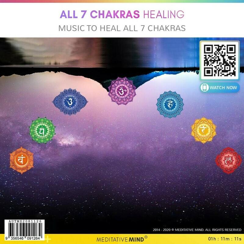 ALL 7 CHAKRAS HEALING - Music to Heal All 7 Chakras
