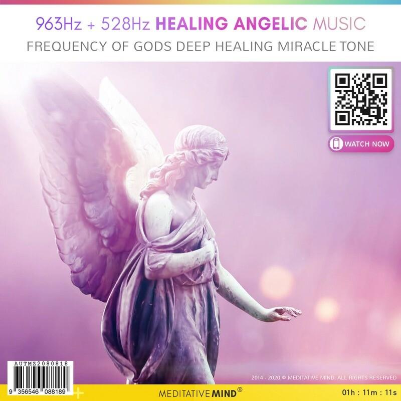 963Hz + 528hz ❖ Healing Angelic Music - Frequency of Gods ⧊ Deep Healing Miracle Tone