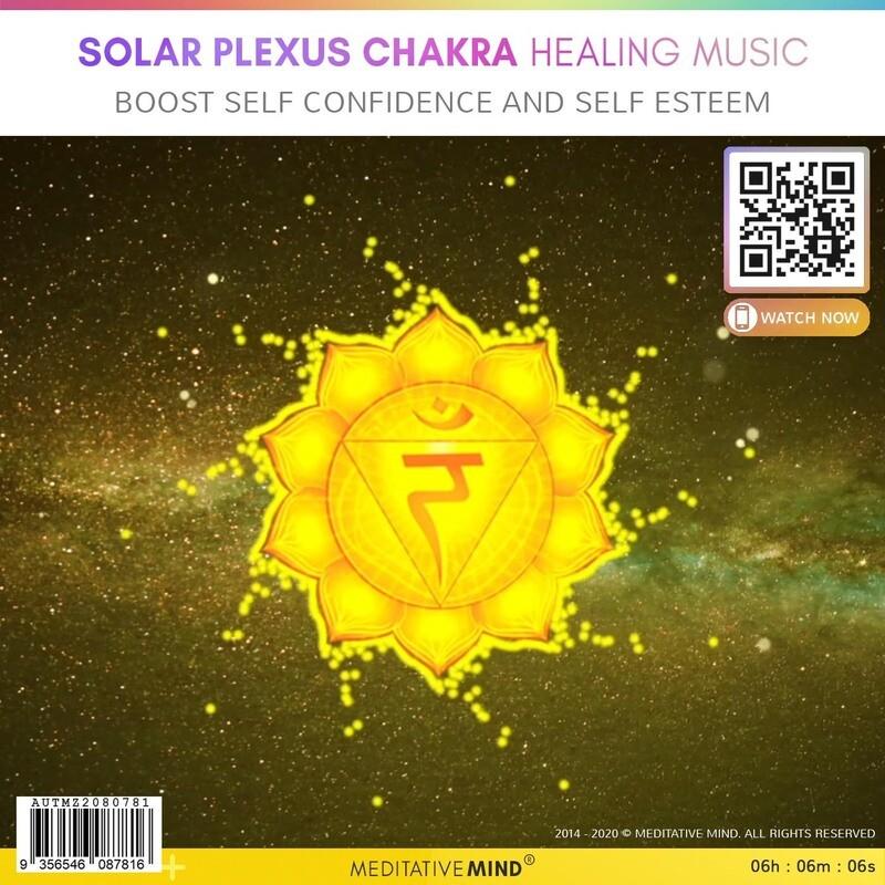 Solar Plexus Chakra Healing Music - Boost Self Confidence and Self Esteem