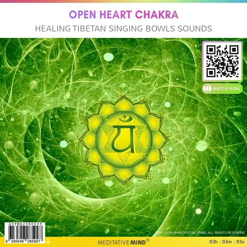 Open Heart Chakra - Healing Tibetan Singing Bowls Sounds