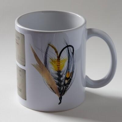 Akroyd Salmon Fly Mug - Version 1