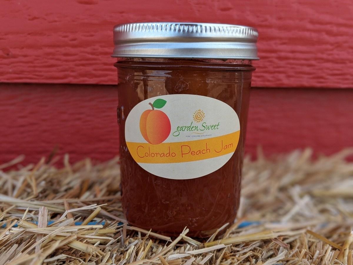 Garden Sweet Colorado Peach Jam