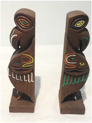 Creed Totem Bookends