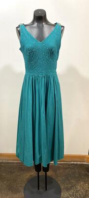 1950's Handmade Rhinestone Dress