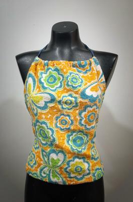 Vintage Terry Cloth Halter Top