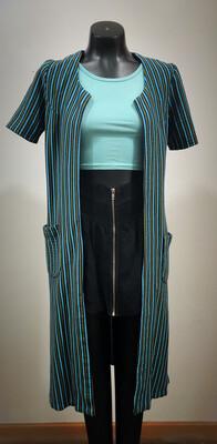 Handmade Knit Open Jacket