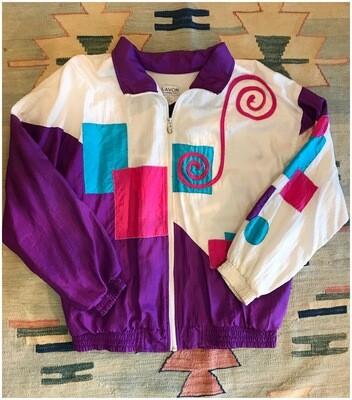 Vintage 80's Lavon Windbreaker