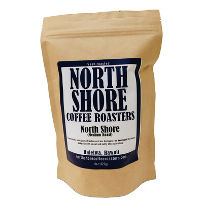 North Shore Medium Roast Coffee, 8 oz - Ground