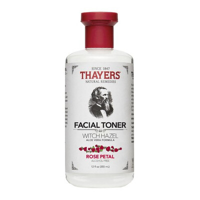 Thayers Rose Petal Witch Hazel with Aloe Vera - 12 fl oz